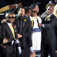 Photo : Lionel Richie, Jermaine Jackson, Jennifer Hudson